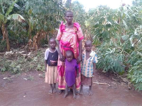 Nankwanga's family