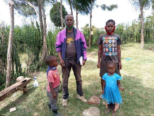 Benard's family