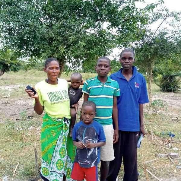 Bahati's family