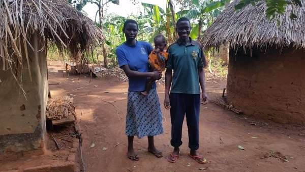 Maganda's family