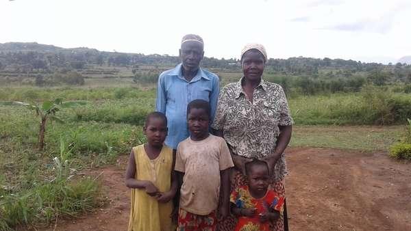 Zubeda's family