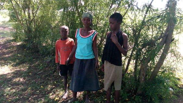 Roselyne's family