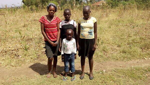 Caroline's family