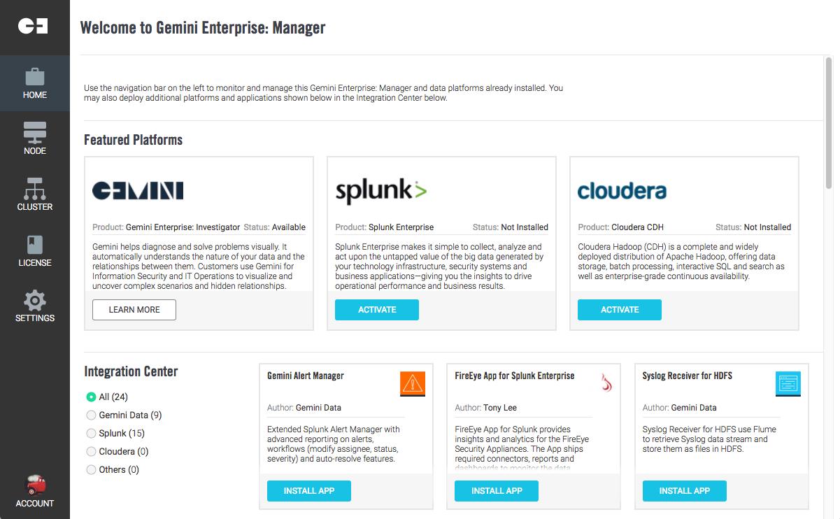 Quick Start Guide - Amazon Web Services (AWS) - Gemini Data Support
