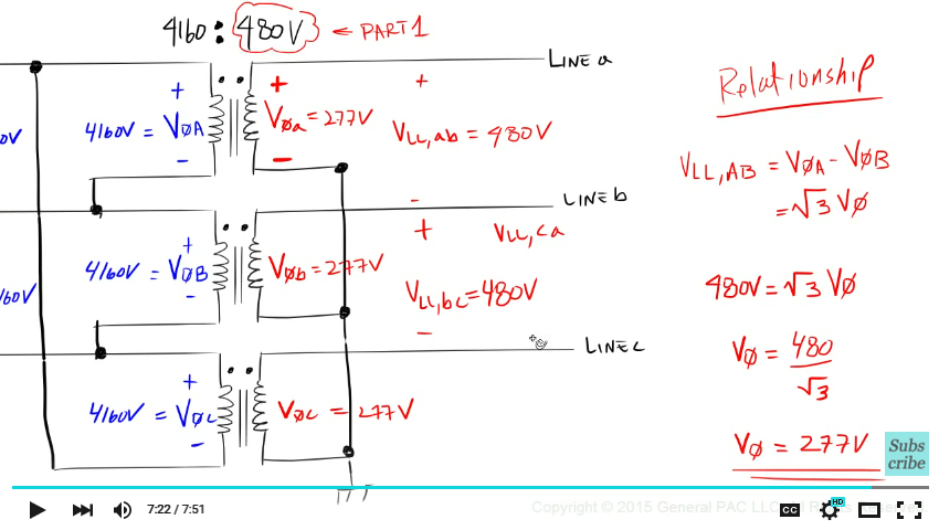 Ac Motor Control Circuits Diagram likewise Wye Delta Reduce Voltage Starter furthermore Star Connection Power Voltage Current also Wiring Motors High Low Voltage 158386 furthermore Delta Star Connection Of Transformer. on delta to wye transformer diagram