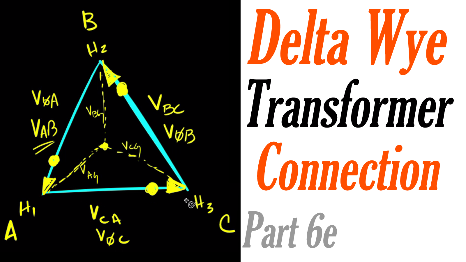 Introduction To The Delta Wye Transformer Part 6e Transformers Ga Power Wiring Diagram