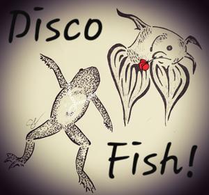 Disco Fish Logo