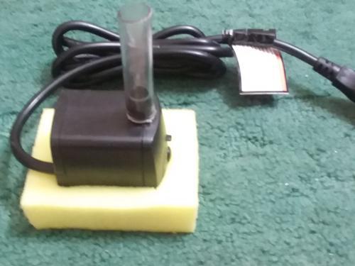 Power sponge filter