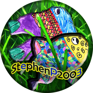 StephenP2003: Fish For You, Bred By Me Logo