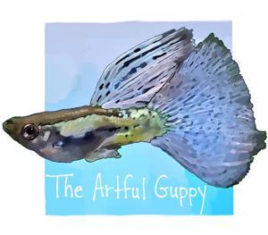 The Artful Guppy Logo