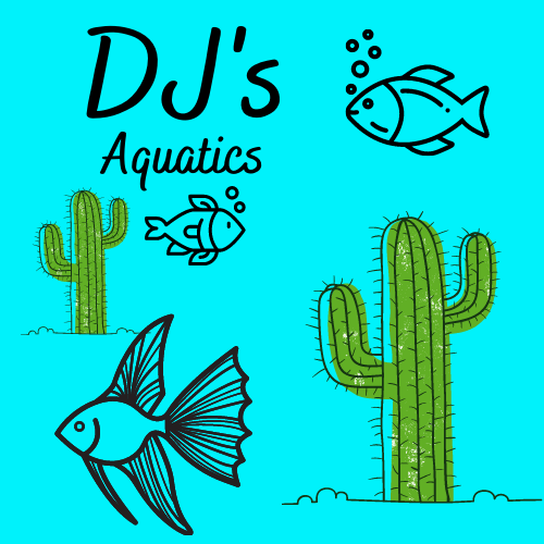 DJ's Aquatics Store Logo