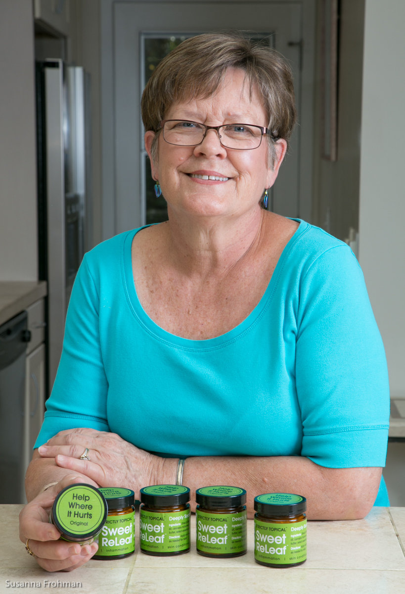 Edina Davis, Founder of Sweet ReLeaf and Strictly Topical