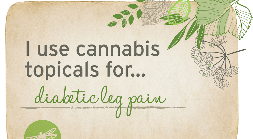 Diabetic Leg Pain Treatment with Cannabis Topicals