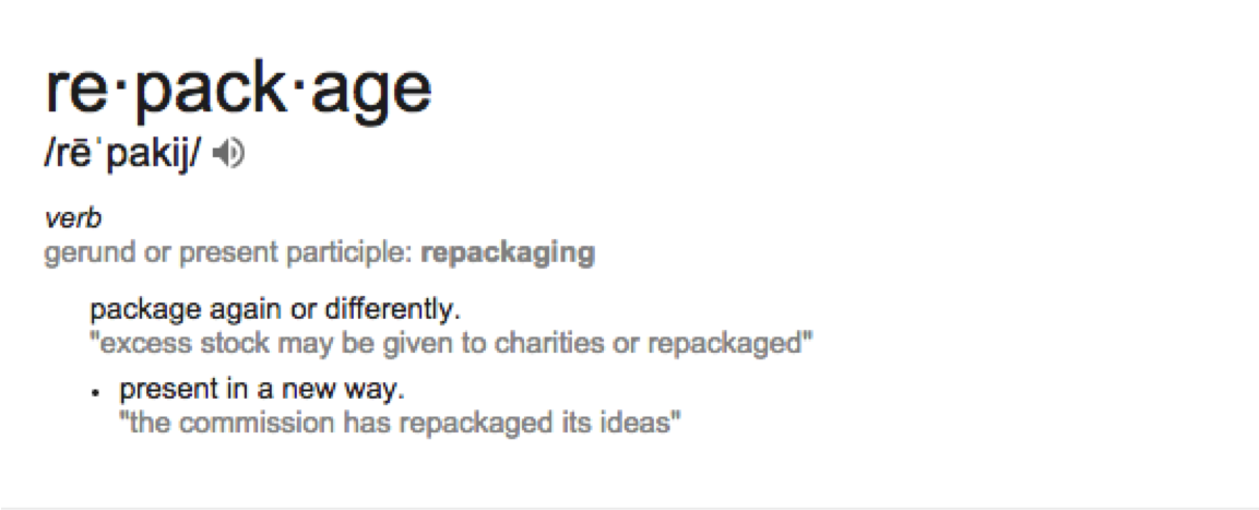 repackage