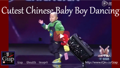 Adorable 3 Year Old Chinese Boy's Dancing That Blows Away Judges
