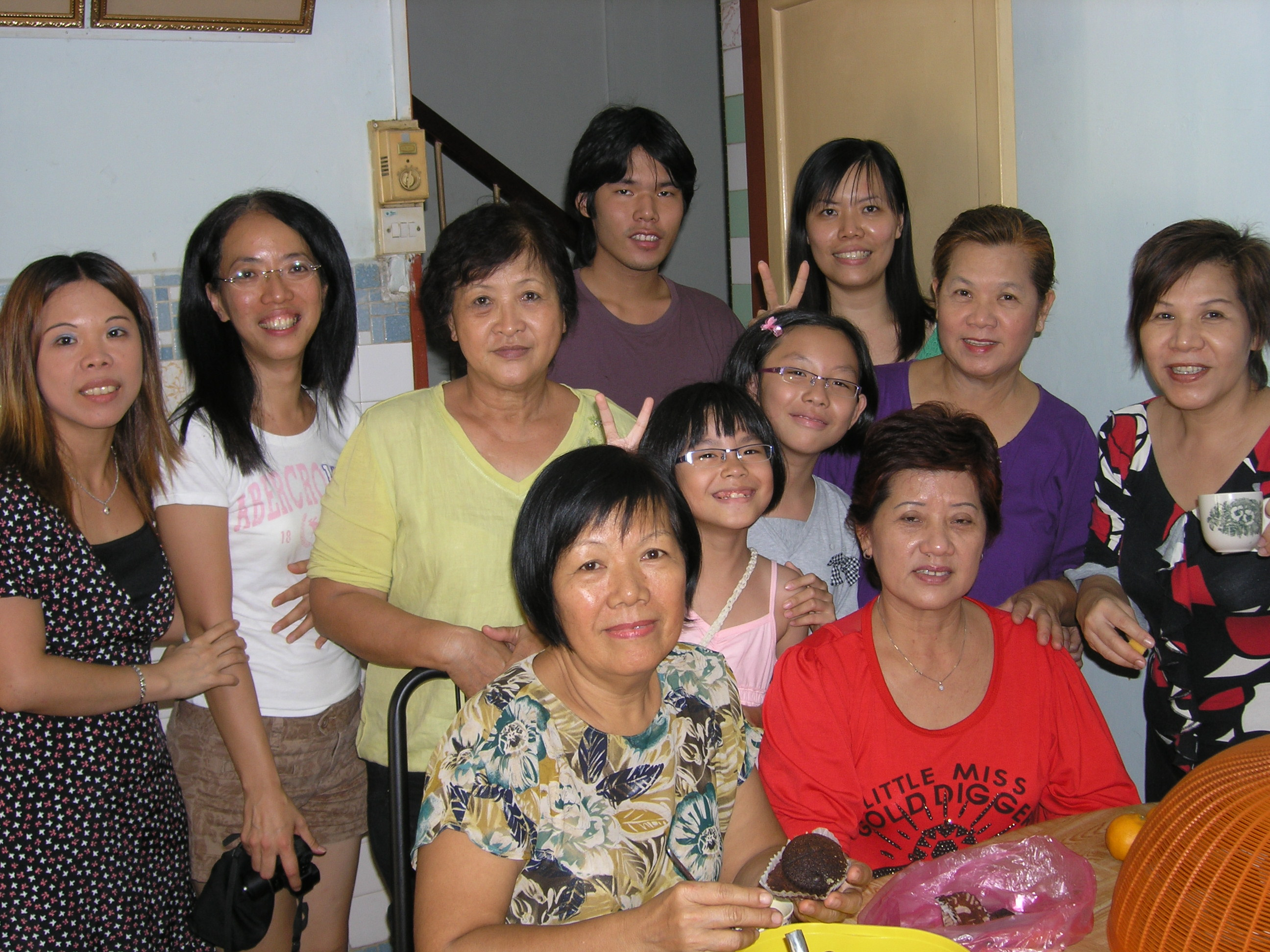 Giap Family Chinese New Year Gathering 2008. Image 1. Image size:2592x1944px