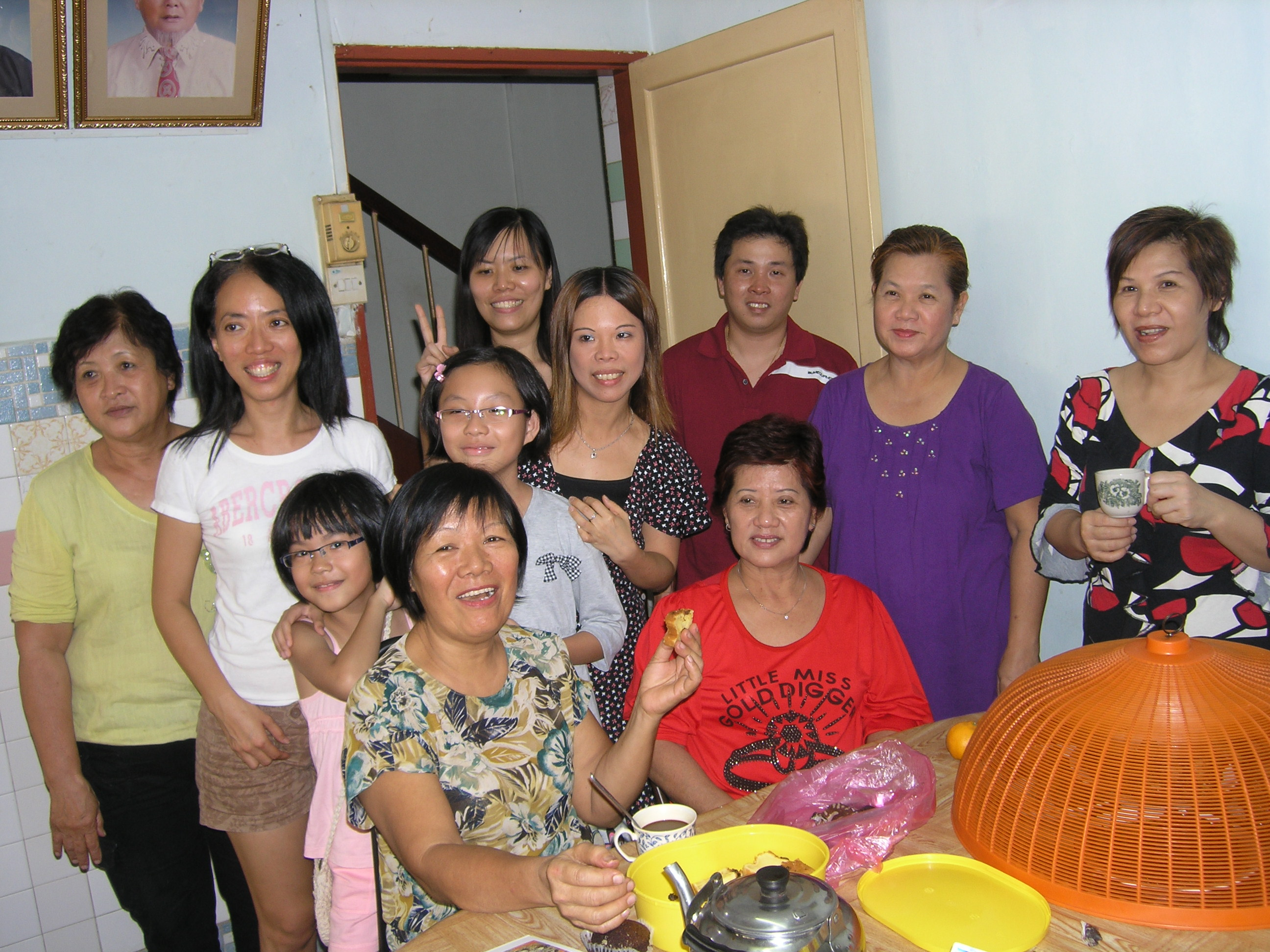 Giap Family Chinese New Year Gathering 2008. Image 4. Image size:2592x1944px