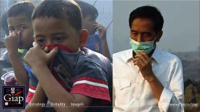 Indonesia Needs 3 Years To Tackle Haze: President Joko Widodo. Image 1A. Image Size:400x225px