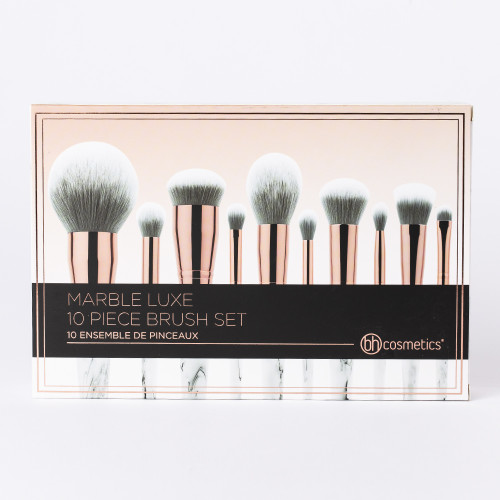 Marble Luxe 10 Piece Brush Set by BH Cosmetics #16