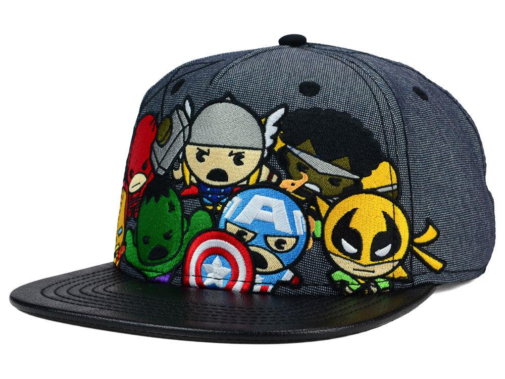 free shipping 5f976 22c9a Marvel Kawaii Snapback Hat ...