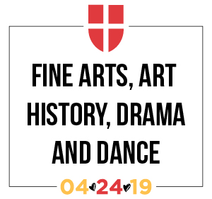 Fine Arts, Art History, Drama and Dance