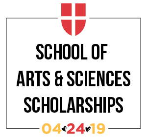 School of Arts and Sciences Scholarships