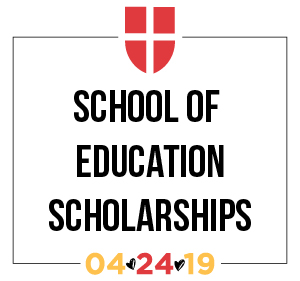 School of Education Scholarships