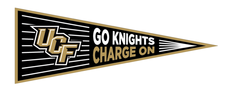 UCF Charge On Pennant