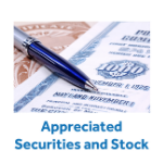 Appreciated Securities and Stock