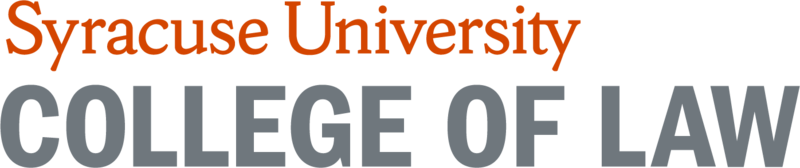 Logo: Syracuse University College of Law