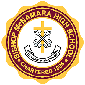 Bishop McNamara High School, a Catholic, Holy Cross, Coeducational, College Preparatory School for Grades 9-12