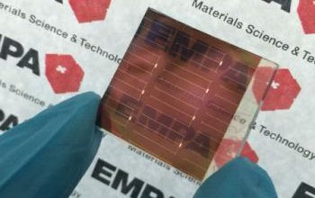 Photo of Perovskite crystals to enable creation of tandem solar cells
