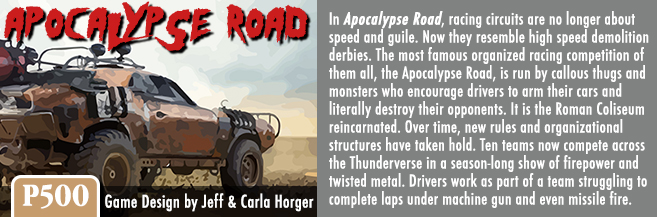 Image result for apocalypse road game