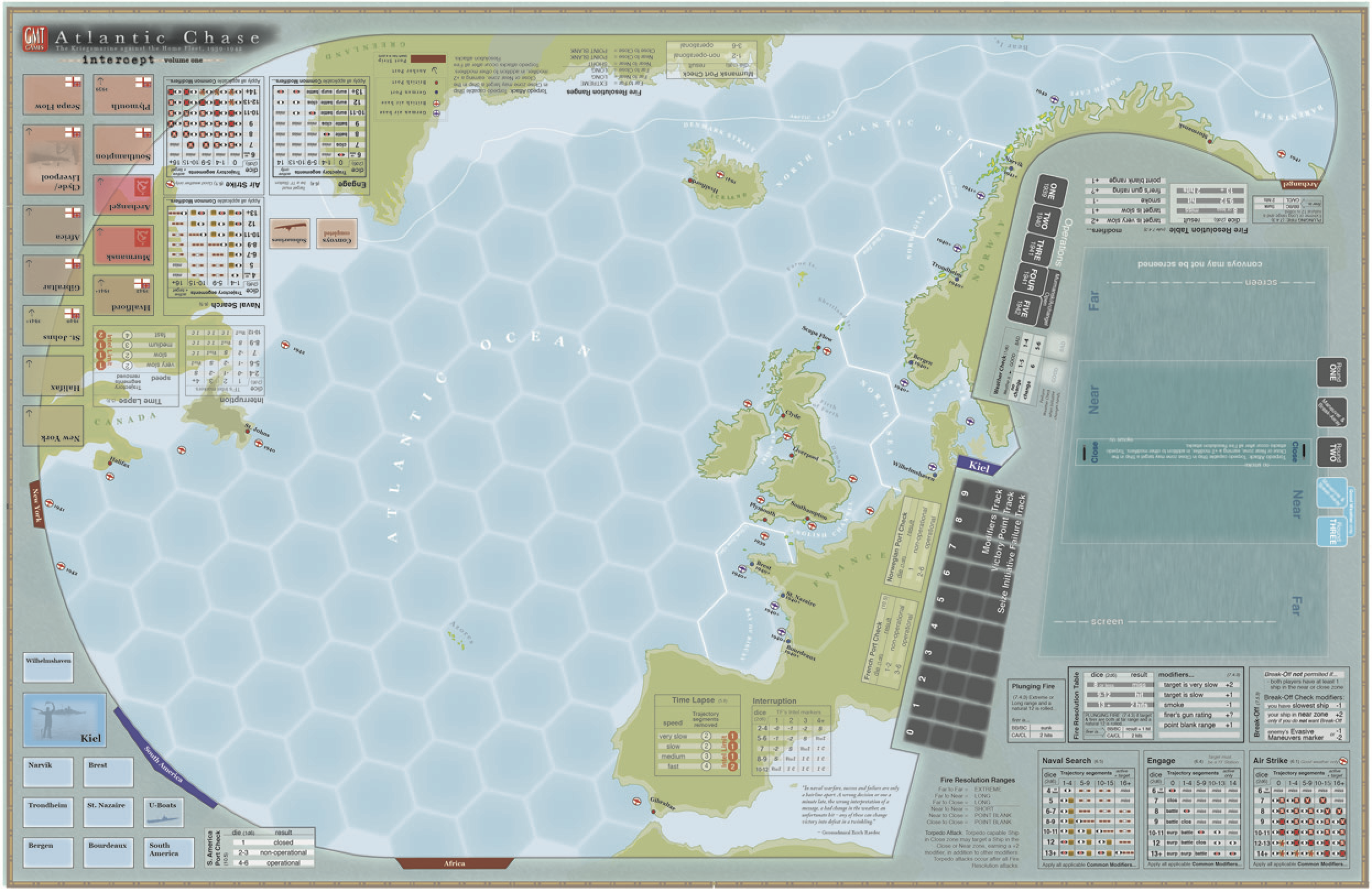 gmt games atlantic chase