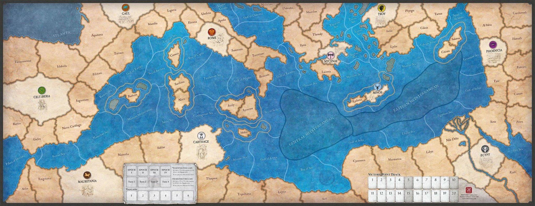 Ancient Civilizations Map