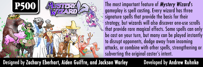 GMT Games - Mystery Wizard