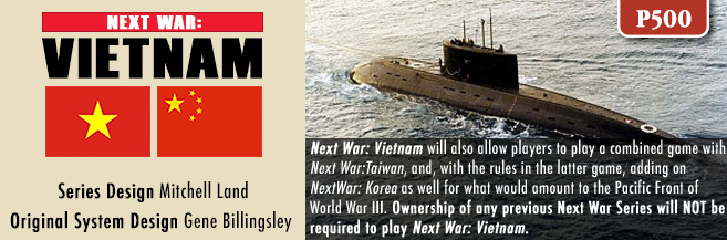 GMT Games - Next War: Vietnam
