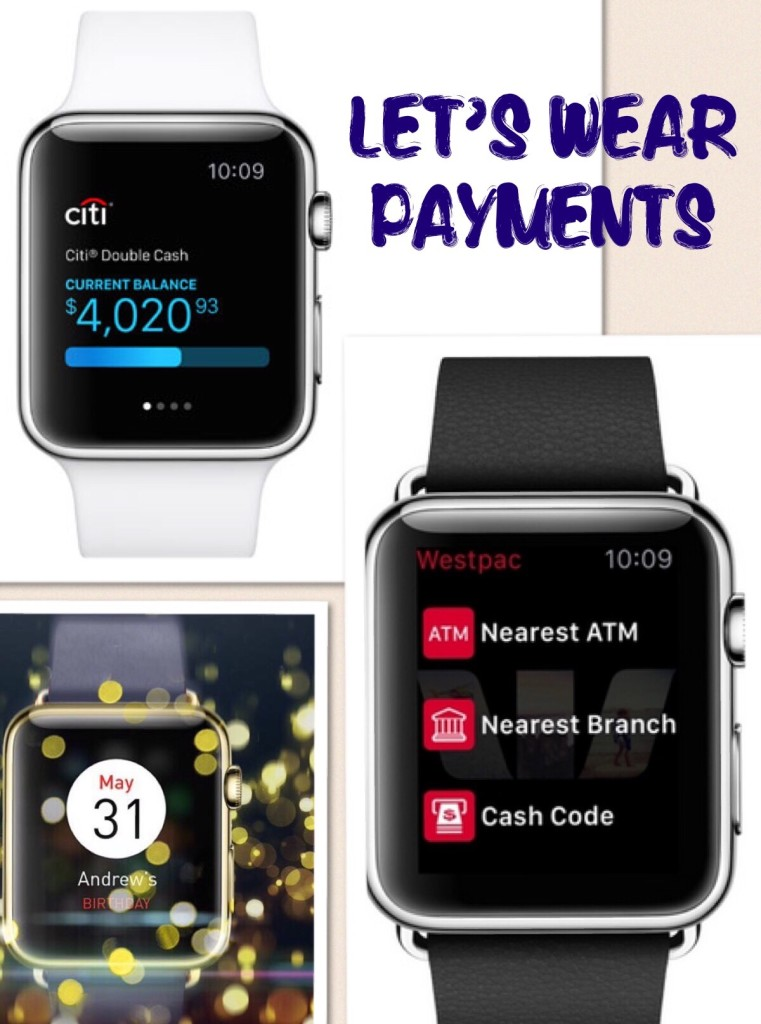 Watch payments