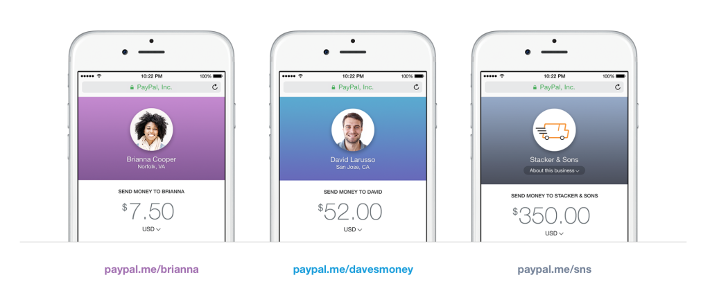 Paypal me/TaylorSwift: You can probably Send Money to Your