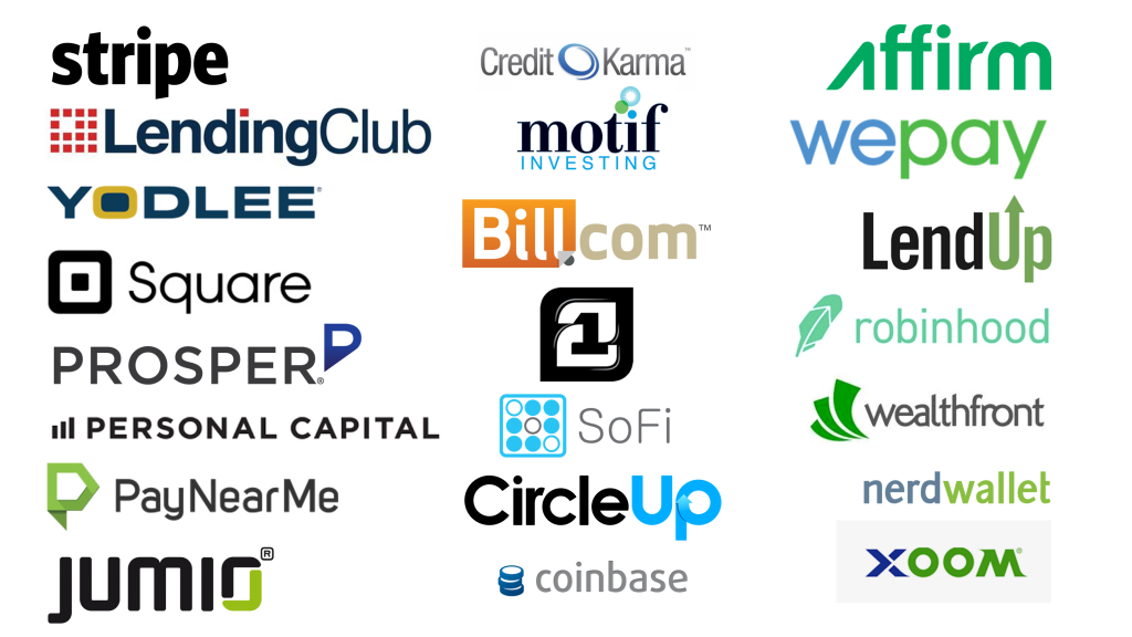 22 Hottest FinTech Startups From Silicon Valley