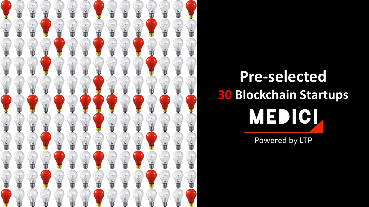 Scouting for the Top 21 Blockchain Startups in the World: The Hunt Starts on MEDICI