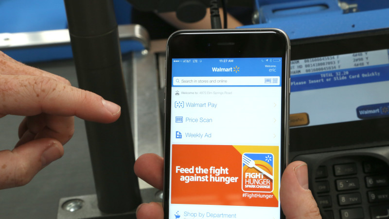 Walmart Pay Rolls Out Mobile Payments Chainwide in the US