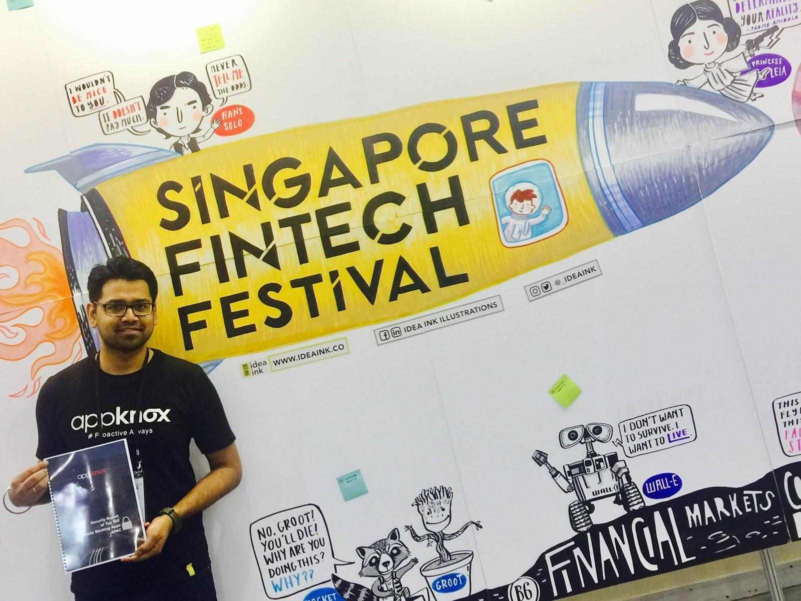Launch of the Latest Security Report on Bank Apps in APAC at Singapore FinTech Festival