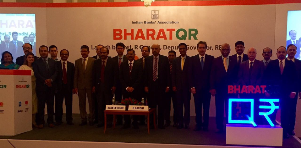 An Interoperable QR Code System, BharatQR, Launched in India in Collaboration With All Leading Card Networks