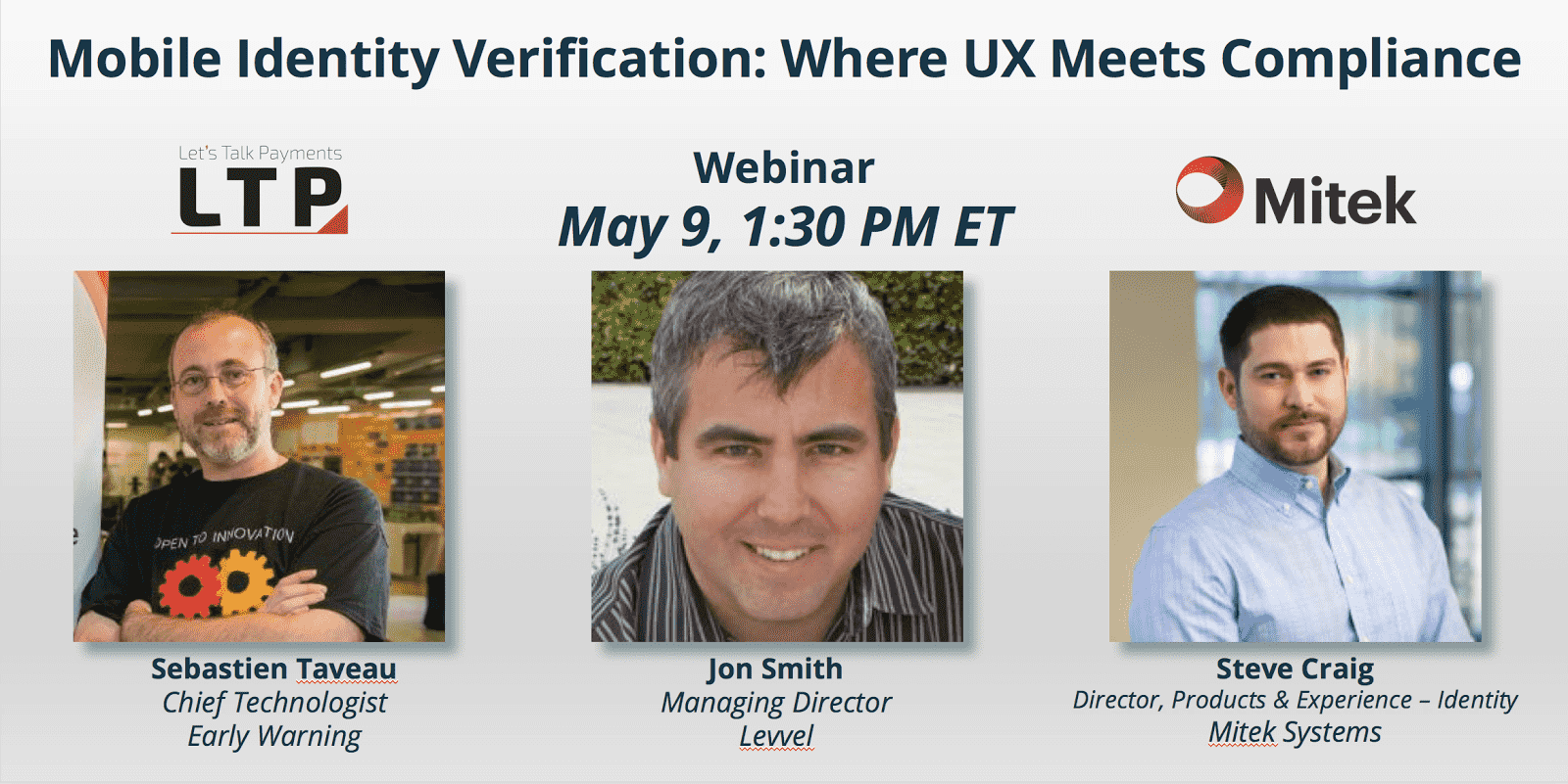 Webinar: Mobile Identity Verification – Where UX Meets Compliance