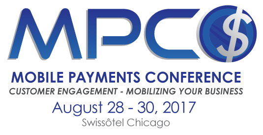 Google, MasterCard, Intel, Bank of America, Visa, Hewlett Packard Enterprise, and McKinsey & Company Executives Among Presenters at 2017 Mobile Payments Conference in Chicago