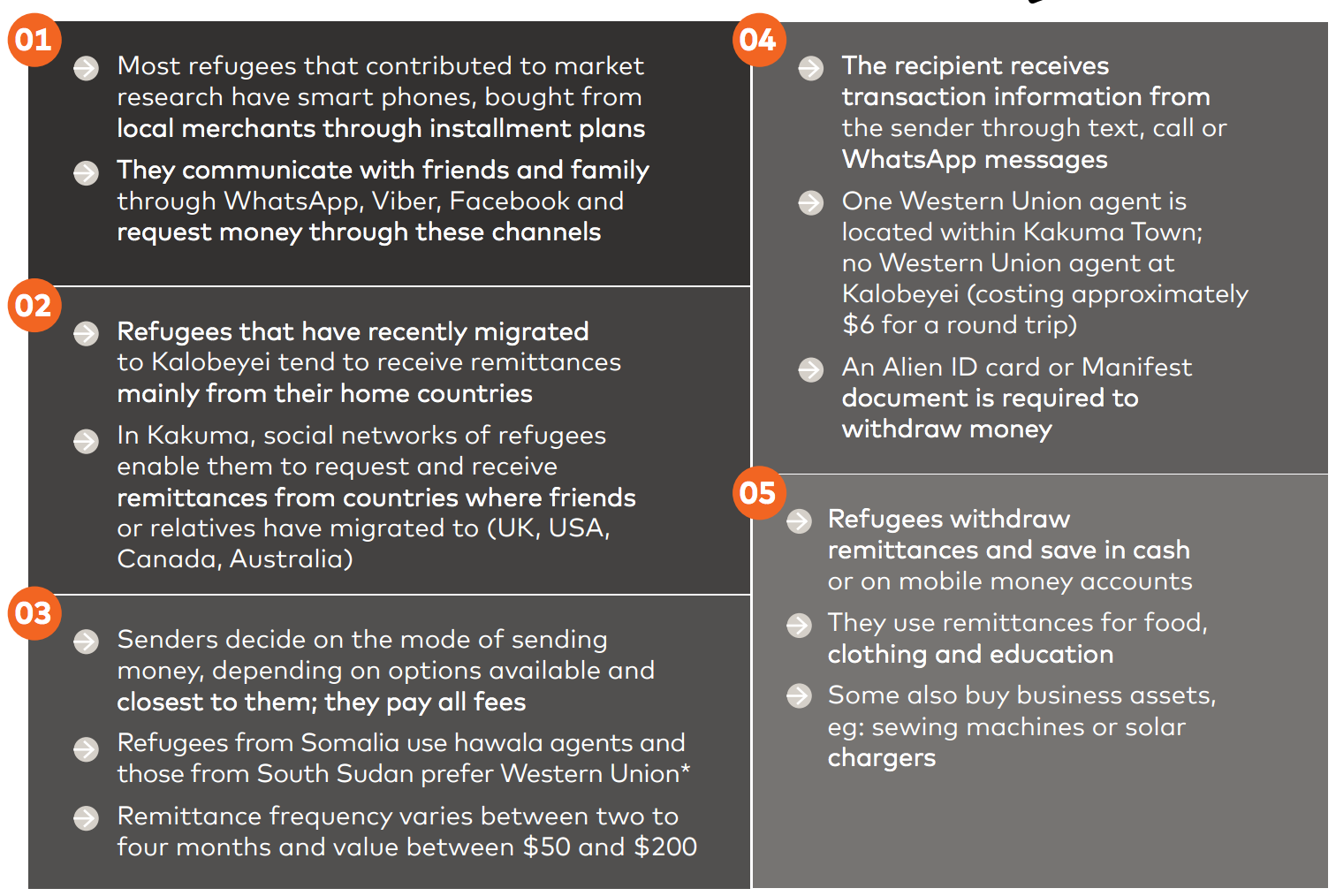 How Refugees Can Financially Assimilate With the Host Country – A Study by Mastercard & Western Union