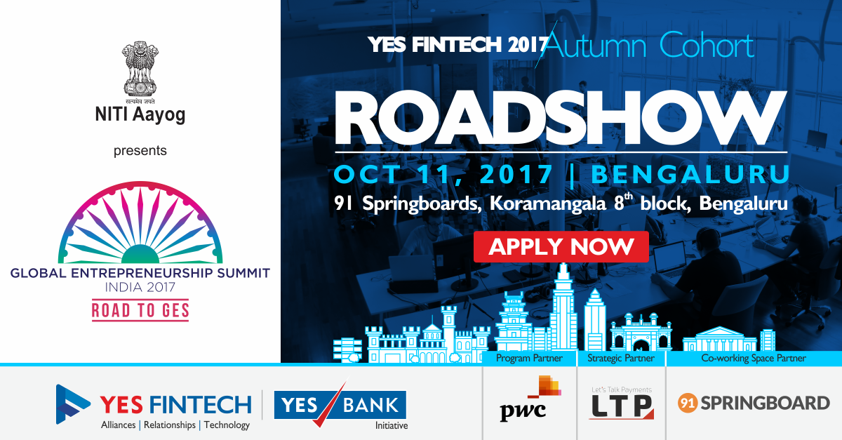 Co-Create to Innovate: Announcing YES FinTech Accelerator Autumn Roadshows