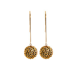 Earrings   pompom   gold   largejpeg srgb 1600px for web
