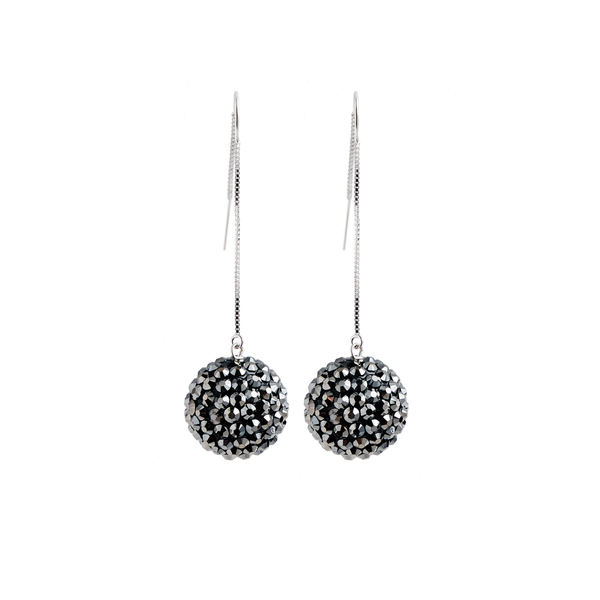 Earrings   pompom   pewter   largejpeg srgb 1600px for web